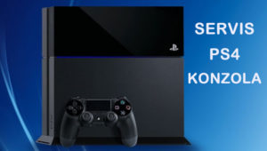 Servis Sony ps4 konzola