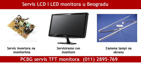 Servis monitora PCBG